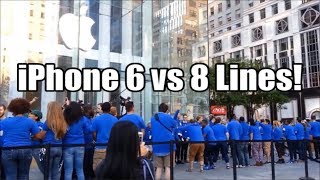 iPhone 8 Apple Store NYC Launch Line- Do People Care?