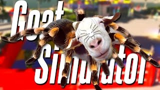 Spider goat | goat simulator - part 13