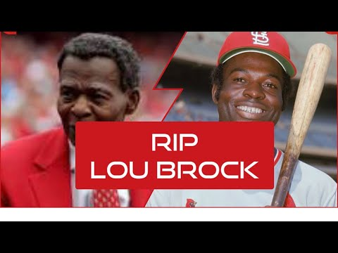 Cardinals legend Lou Brock dies Sunday afternoon at 81