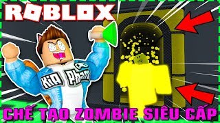 Roblox | The OTHER MAD SCIENTIST BUILT SUPER ZOMBIE FACTORY LEVEL-Infection Inc. 2 | Kia Breaking
