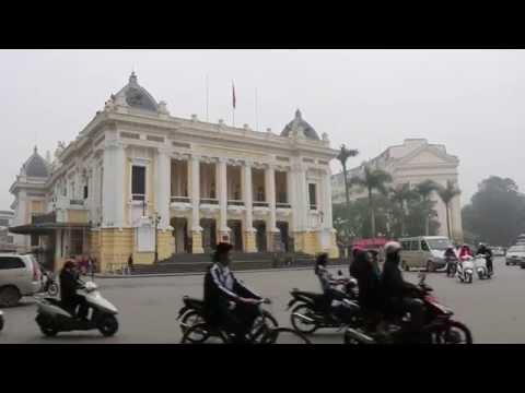 View of the Hanoi Opera House, Vietnam