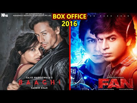 Baaghi vs Fan 2016 Movie Budget, Box Office Collection, Verdict and Facts | Shahrukh Khan