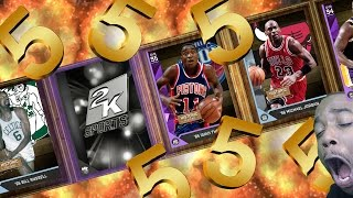 wtf we pulled him 5 amethyst under 500k mt nba 2k16 myteam pack opening