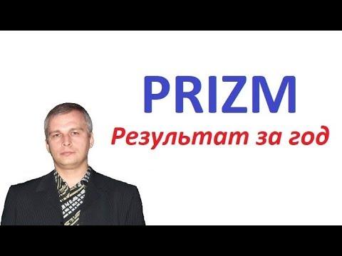Криптовалюта PRIZM - Результат за год