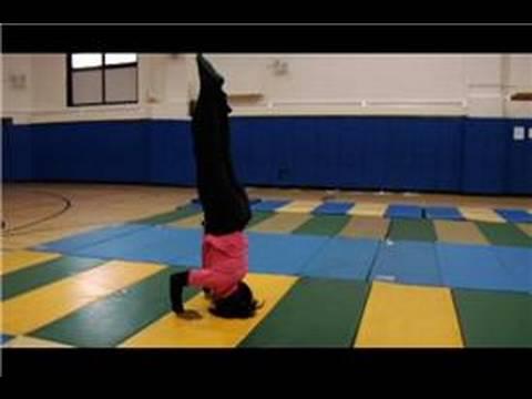 Gymnastics How To Do A Tripod In Gymnastics Youtube