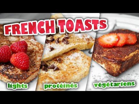 french-toasts:-3-recettes-de-pain-perdu-(light,-végétarien-&-protéiné)-🍴