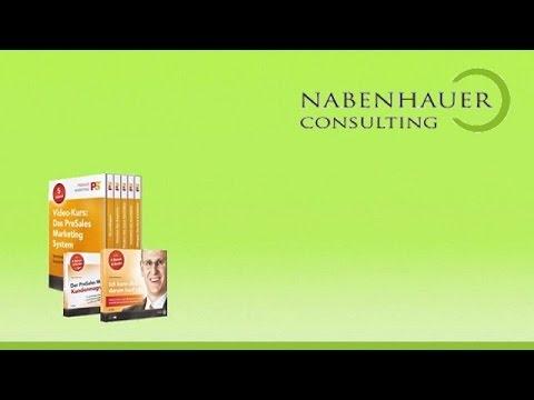 Vertriebsprozess optimieren - Der PreSales Marketing Erfolgsstream - 4 tlg. - Nabenhauer Consulting