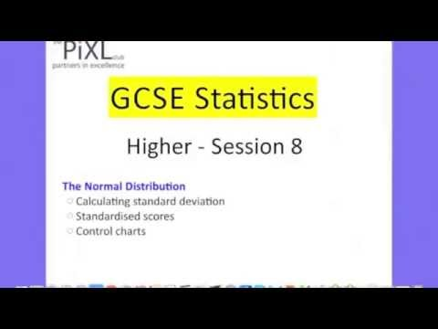statistics coursework gcse example