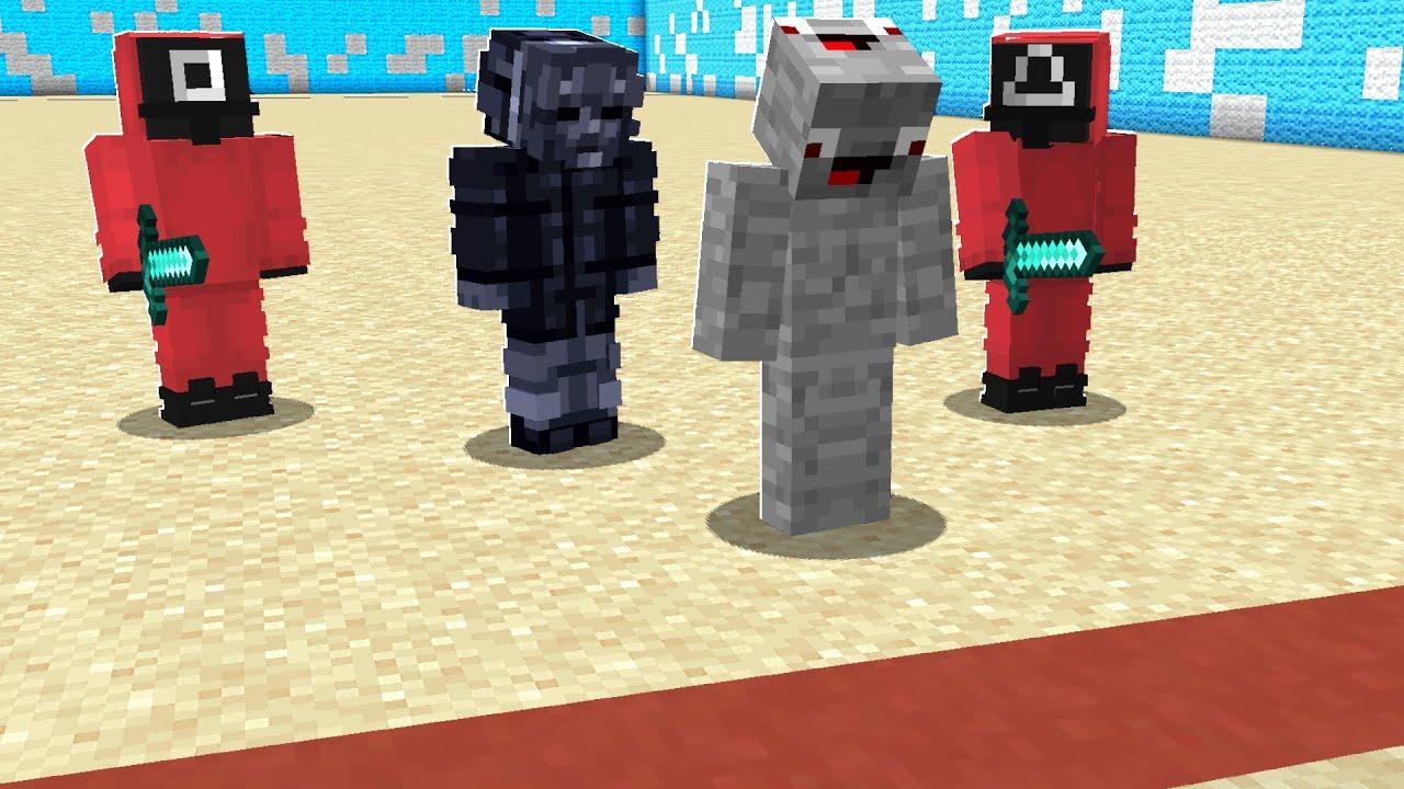 Download Alphastein spielt SQUID GAME in Minecraft !