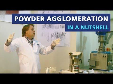 Powder agglomeration in a nutshell