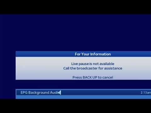 2017 Sky Christmas EPG Music, Hand over from 2017 Sky EPG Music