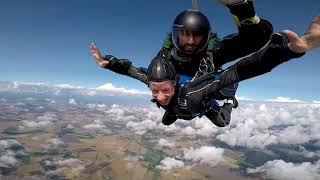 Skydiving med Skydive Syd i Eslöv