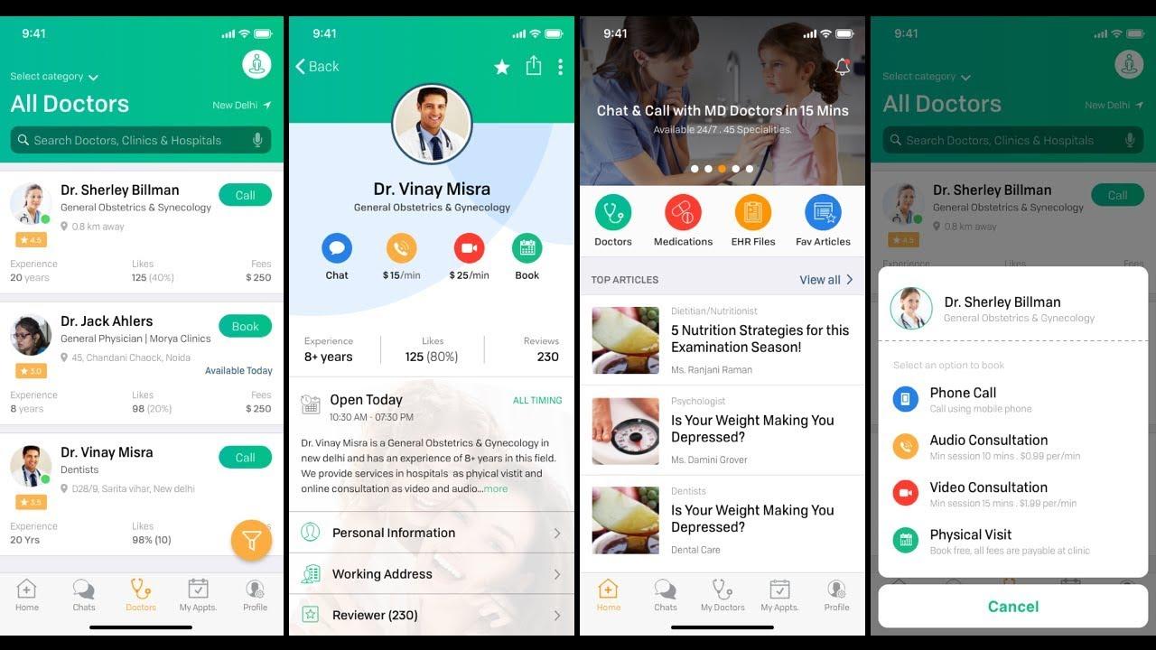 Patient App | Download Healthcare UI KIT