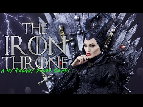 DIY - How To Make: Custom The Iron Throne From Game Of Thrones