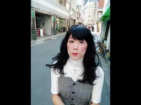 Japanese crossdresser in my 50s walked Akihabara streetat ...