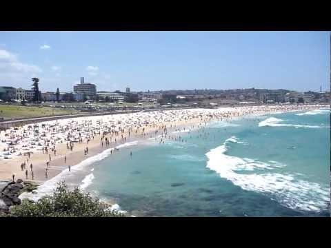 Bondi Beach on 2013 New Year's Day, Paradise on Earth, Sydney Australia