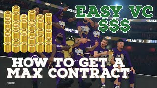 NBA 2K20 GETTING A MAX CONTRACT IN MYCAREER