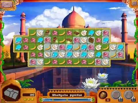 Геймплей игры Загадки Путешествий. Поездка в Индию