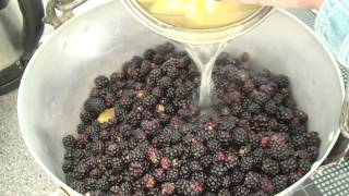 How To Make Rhubarb And Blackberry Jam