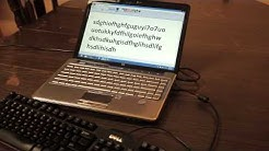 How to Install External Keyboard To a Laptop