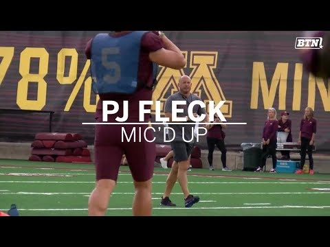 BTN Bus Tour: P.J. Fleck Mic'd Up | Minnesota | Big Ten Football