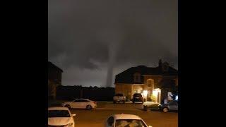 Best View Of Dallas Tornado 10-21-19