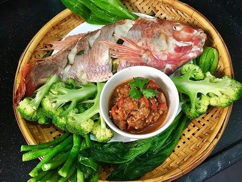 ปลานึ่งจิ้มแจ่ว แซ่บอิหลี ทำง่ายอีกแล้ว l อร่อยพุง #เฟิร์มอร่อยจากเม้น