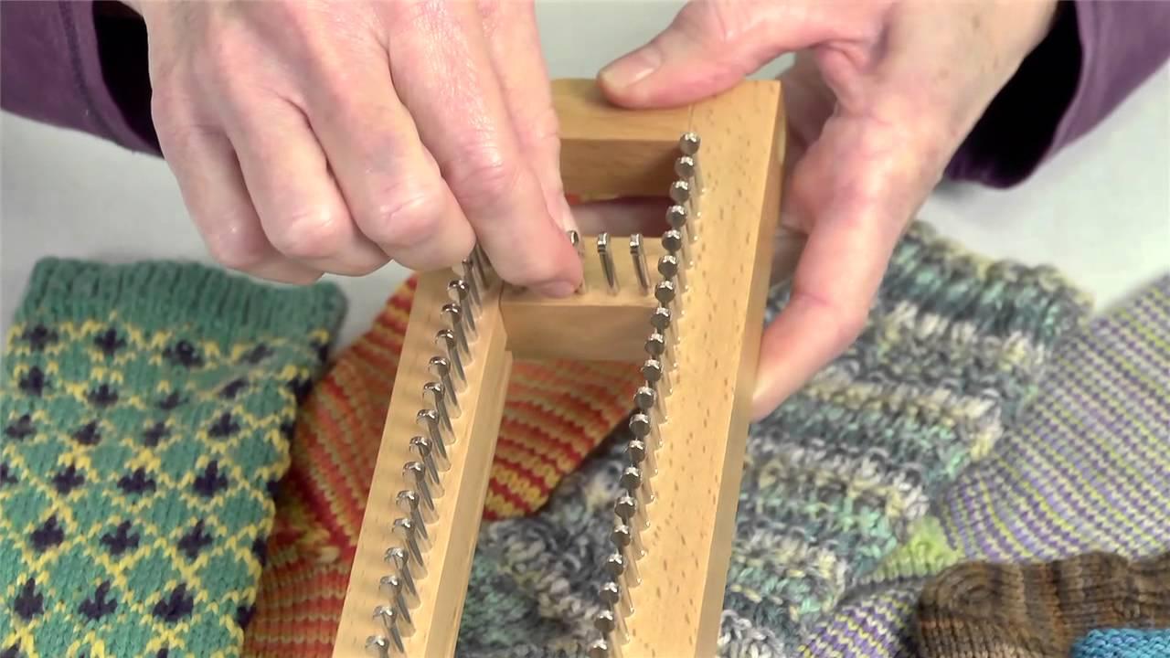 Sock Loom 1 - YouTube