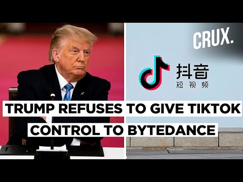 Donald Trump Questions Oracle Deal If ByteDance Keeps Majority Stakes