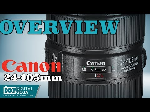 Canon EF 24-105mm f4L IS II USM Lens | Overview