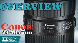 Canon EF 24-105mm f/4L IS II USM Lens | Overview