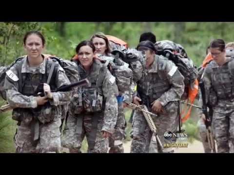 Diane Sawyer Female Soldiers In Afghanistan Warzones