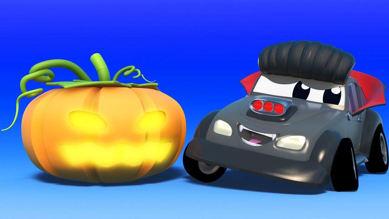 Lễ Halloween:  Ma cà rồng đáng sợ - Thành phố xe hơi - Hoạt hình thiếu nhi