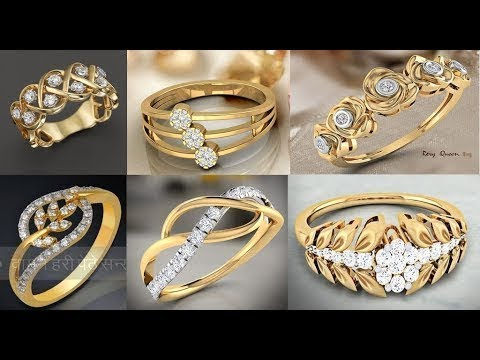 Uniqe Gold Ring Designs 2018 Women Gold Rings Designs Gold