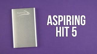 Розпакування Aspiring HIT 5 4000 mAh