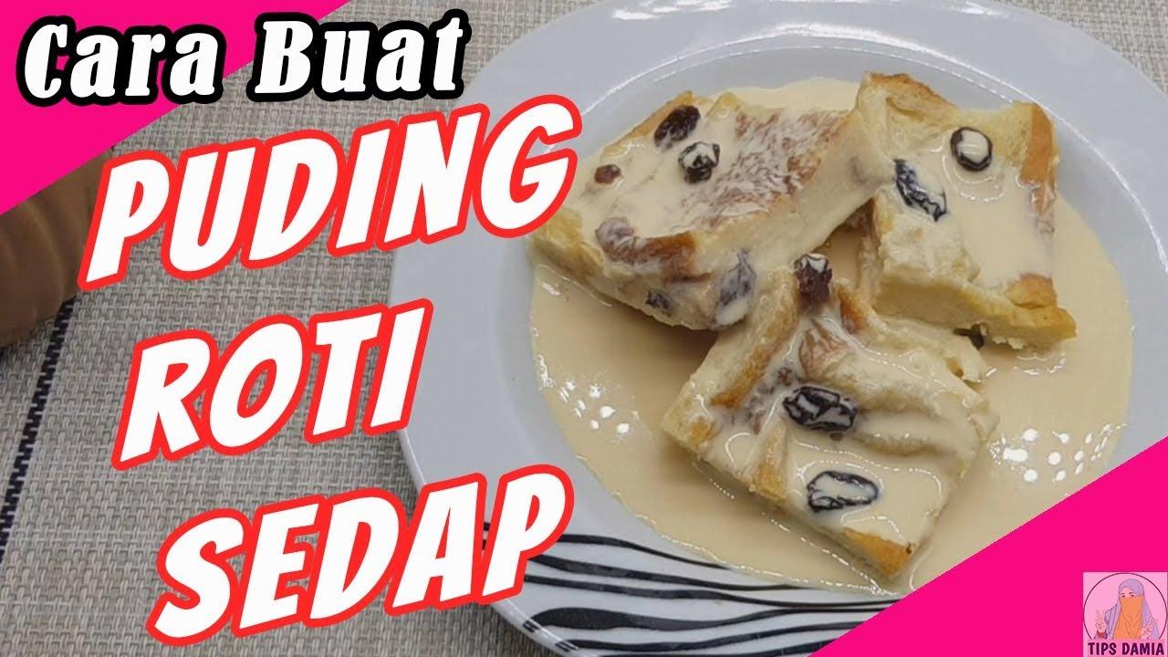 resepi puding roti mudah  sedap pudingroti sisdamia youtube Resepi Roti Farina Enak dan Mudah