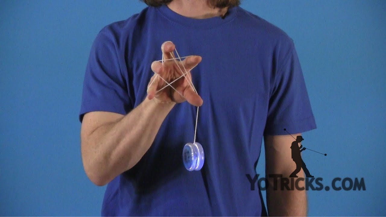 Learn how to do the One-Handed Star Yoyo Trick - YouTube
