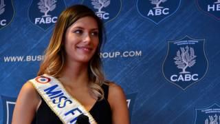 Miss Univers : Camille Cerf émue après le sacre d'Iris Mittenaere