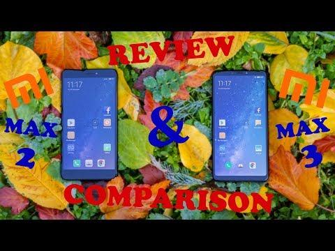 xiaomi-mi-max-3-&-mi-max-2-review-and-comparison