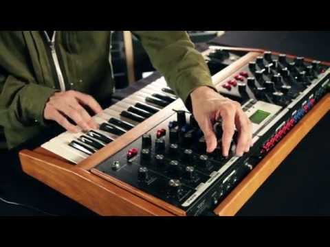 Moog Voyager Synthesizer Demo