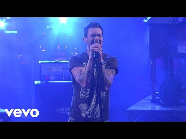 Maroon 5 - Payphone (Live on Letterman)