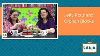 504: Fabric Jelly Rolls and Orphan Quilt Blocks