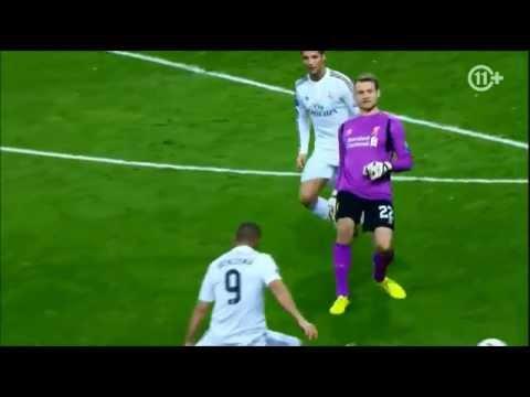 Mignolet owns Ronaldo and Benzema