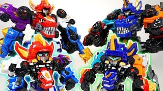 DinoCore S03 Mini Ultra D-Buster, D-Saber appeared! Cute dinosaur transformers! - DuDuPopTOY