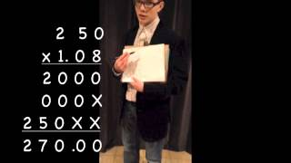 Math Counts - Converting Dollars to Euros and Other Extreme Situations