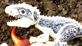 ЛЕГО Динозавры Гибриды - Мир юрского периода - Сборник. Поделись с друзьями и Выиграй Подарок!