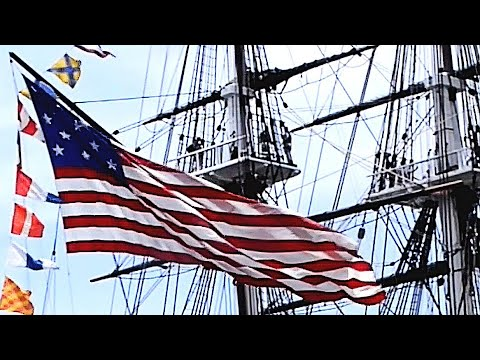 USS Constitution—World's Oldest (Still Active) Naval Vessel—Celebrates The Fourth Of July