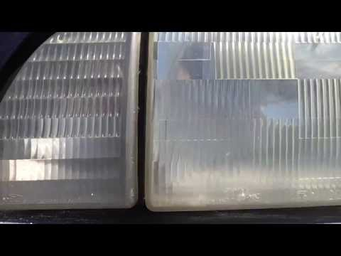 Cleaning Car Headlights WHAT really WORKS ?