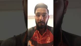 IPL Auction 2018 | Ankit Sharma | Message for the Fans | Rajasthan Royals