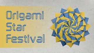 Modular Origami Tutorial: Star Festival (Nobuko Okabe)